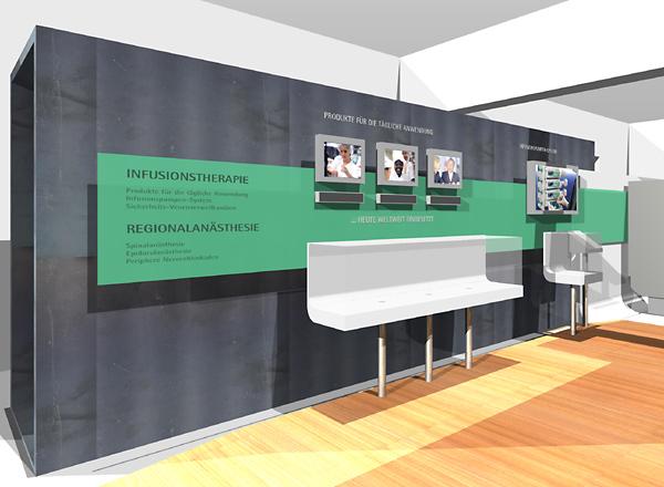 Showroom für die Aesculap Akademie