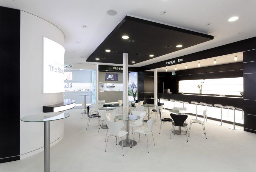 Loungebereich für Casio