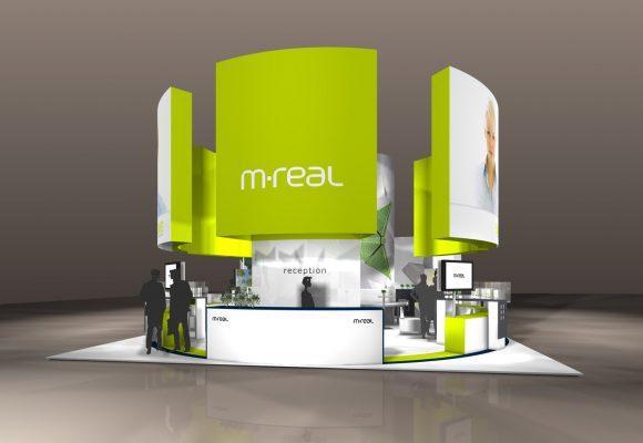 Messekonzept für M-Real