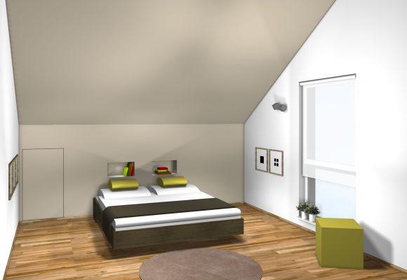 Neugestaltung privater Wohnräume