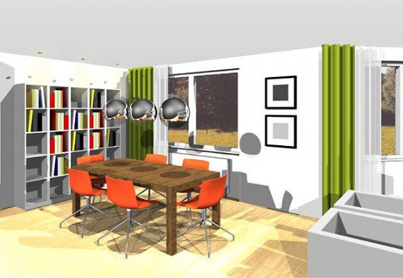 Umgestaltung Wohn-/Esszimmer
