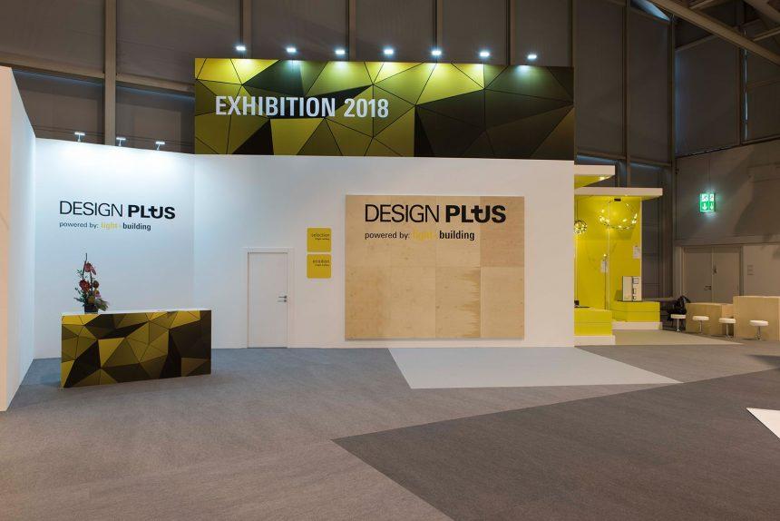 Messekonzept für Design Plus